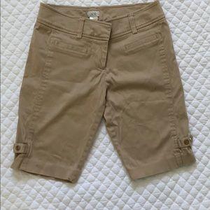 Cache Beige Bermuda Shorts